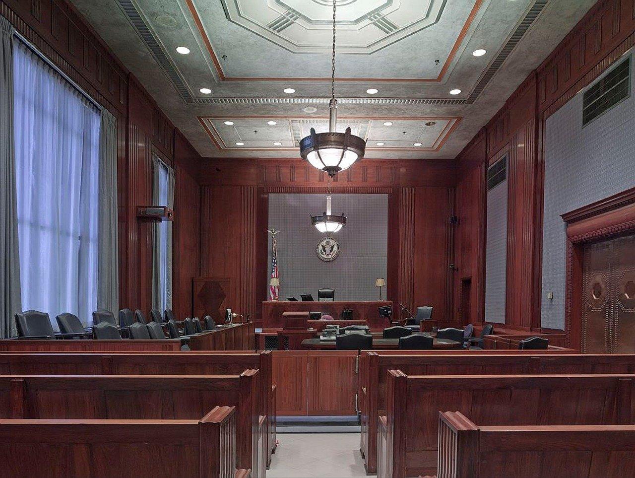 Sala De Justicia, Bancos, Asientos
