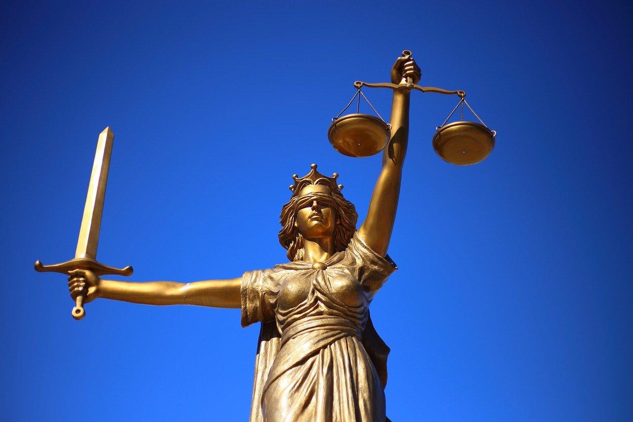 La Justicia, Estatua, La Dama De La Justicia